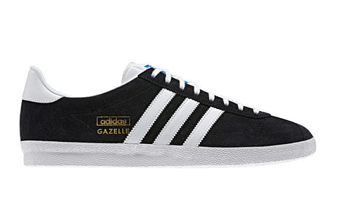 adidas Originals Gazelle OG Men's Trainers - Black and White