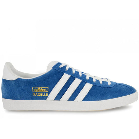 adidas Originals Gazelle OG Men's Trainers - Airforce Blue and White