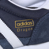 Adidas Originals Dragon Trainers - Navy/White - Size UK 7-12