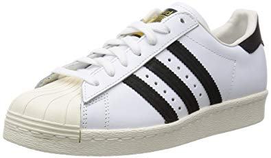 adidas 'Originals' Superstar 80s Trainers - White/Black