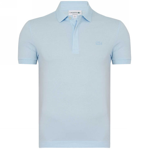 Lacoste Men's Paris Piqué Polo Shirt – Light Blue