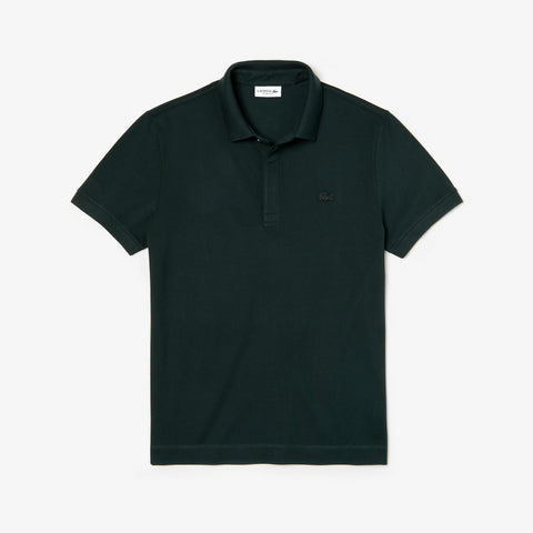 Lacoste Men's Paris Piqué Polo Shirt – Green