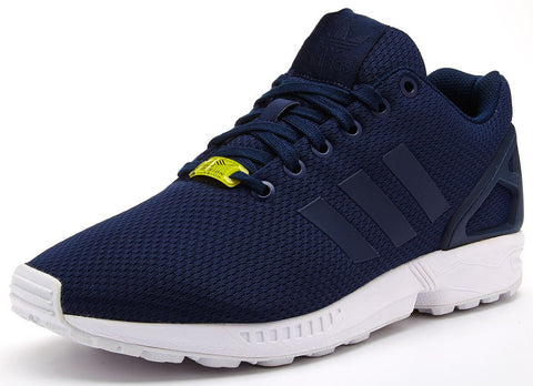 adidas Originals ZX Flux Trainers - Navy/White