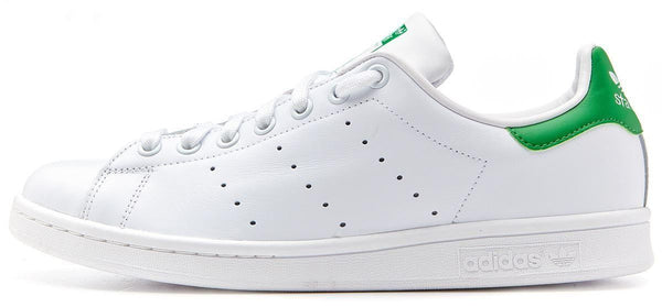 pretty nice 5e733 e9a3a Adidas Originals Stan Smith Leather Trainers - White/Green