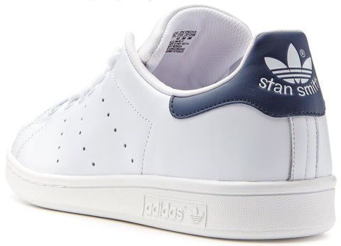 competitive price 441d8 dde81 adidas Originals Stan Smith Leather Trainers - White/Navy