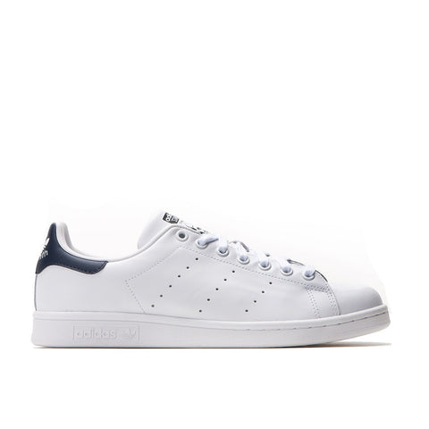 Adidas Originals Stan Smith Leather Trainers - White/Navy
