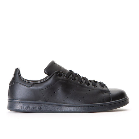 Adidas Originals Stan Smith Leather Trainers - Black