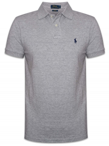 Ralph Lauren Men's Short Sleeved 'POLO' Shirt - Grey
