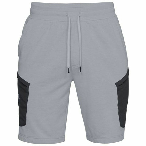 Under Armour Microthread Terry Ultra Soft Fleece Shorts - Grey