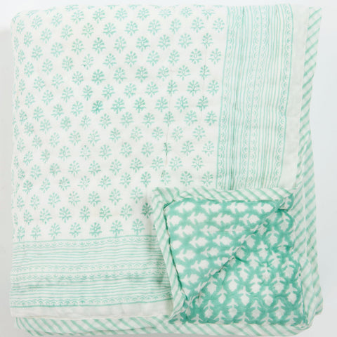Bouti Print Cot Quilt
