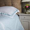 Teal Blue with matching Angela Duvet Cover