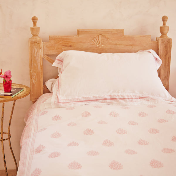 Rose with matching Angela Duvet Cover