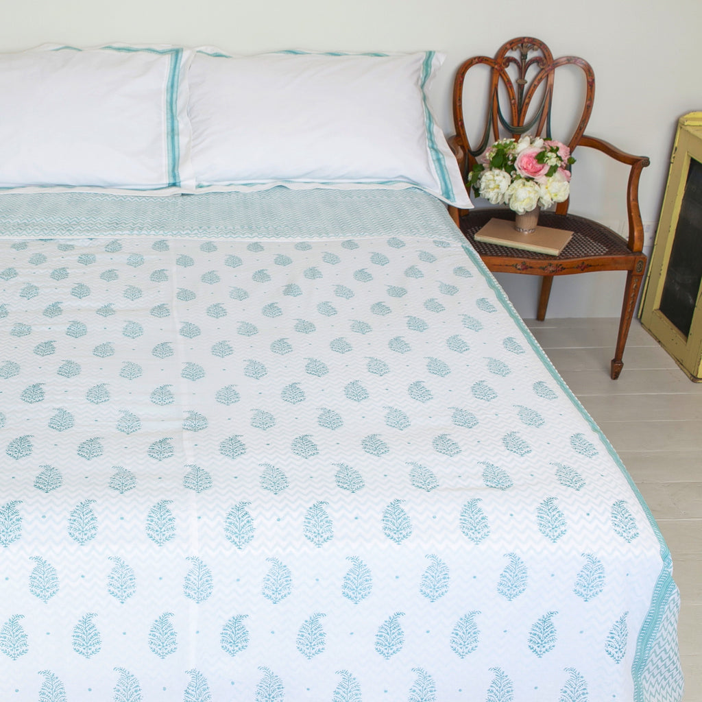 Nina Paisley Bed Cover / Sheet
