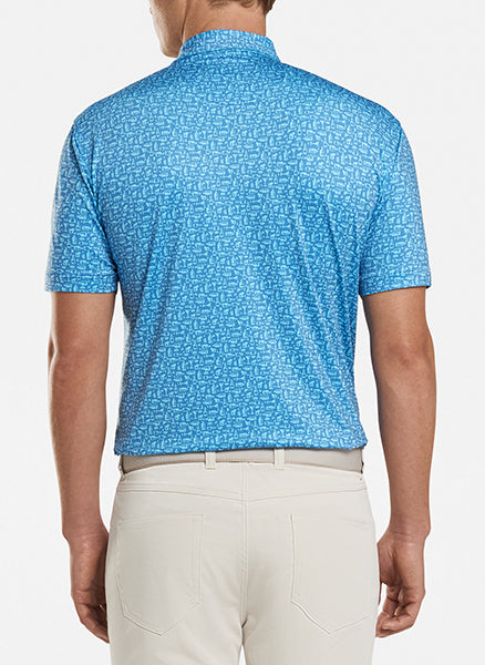 Oak Printed Crown Sport Polo