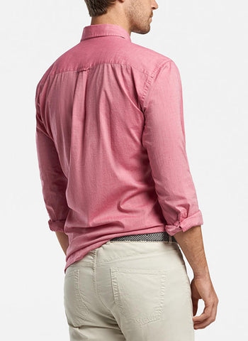Seaside Garment Dyed Solid Sport Shirt