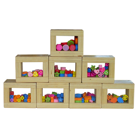 Color-Shapes in Blocks 8pcs