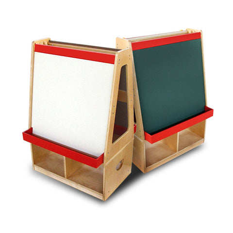 Easel W/Storage Compartments