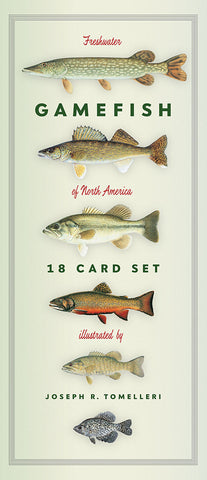 Freshwater Gamefish of North America 18 Card Set