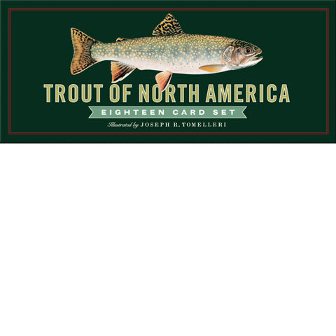 Trout of North America Eighteen Card Set