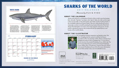 Sharks of the World 2017 Wall Calendar