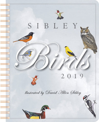Sibley's Birds Weekly Engagement 2019