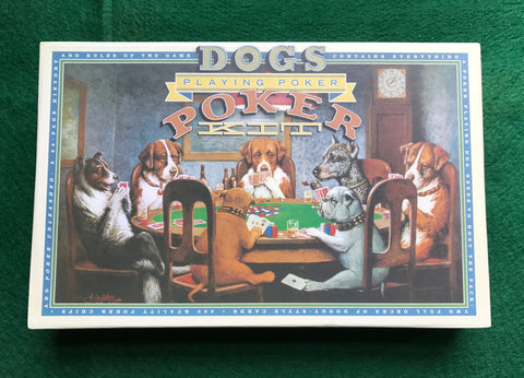 Dogs Playing Poker Kit