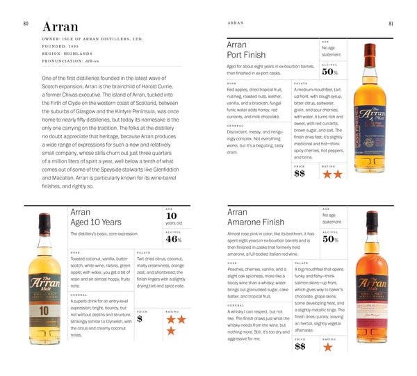Ratings A Guide to the Whiskies of Scotland and Tasting Notes for More Than 330 Expressions Single Malt Includes Profiles