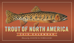 Trout of North America 2019 Calendar