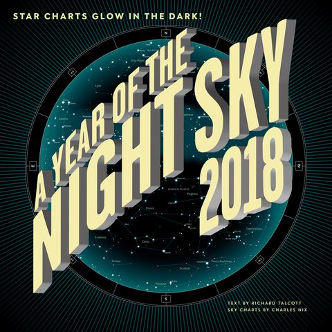 Year of the Night Sky 2018 Calendar