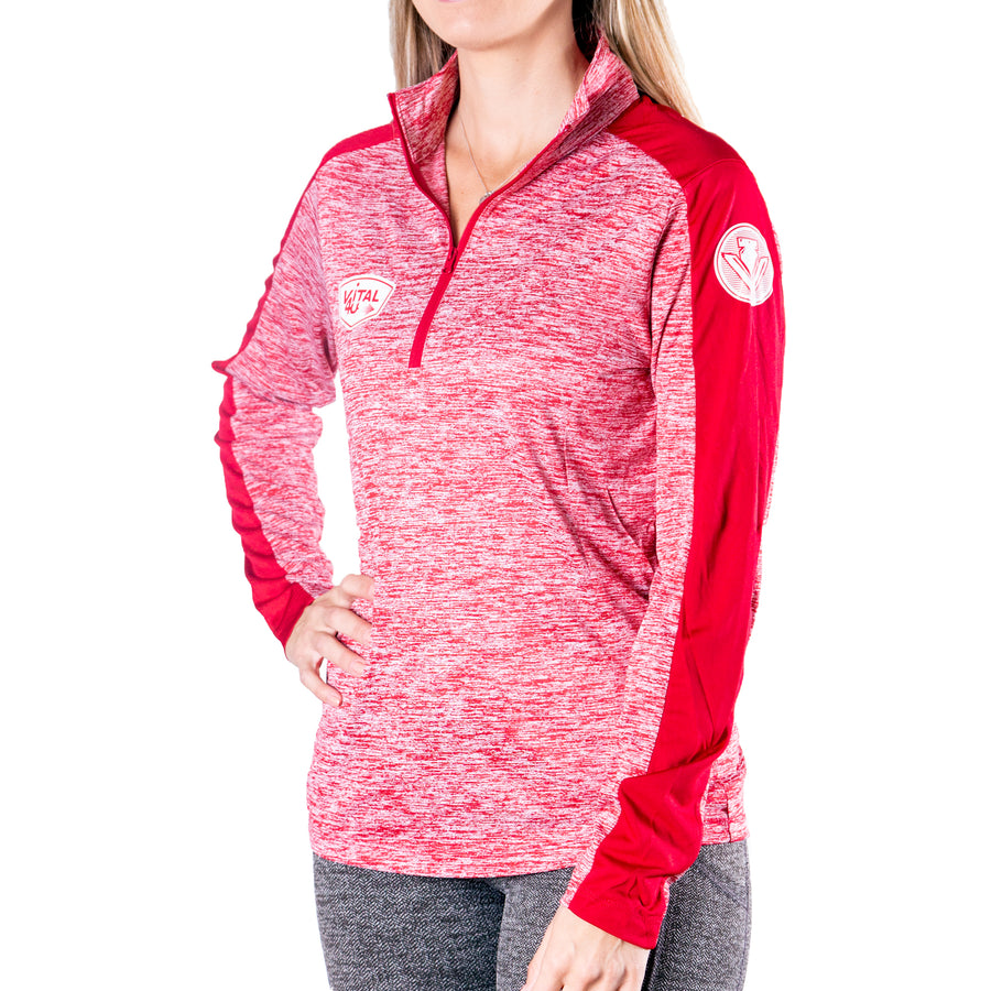 Vital 4U® 1/4 Zip Electric Pullover