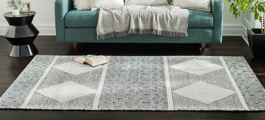 Oboto Hand-Loomed Tribal Area Rug
