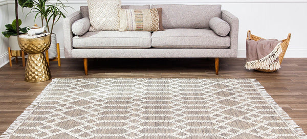 Raani Jute and Wool Area Rug