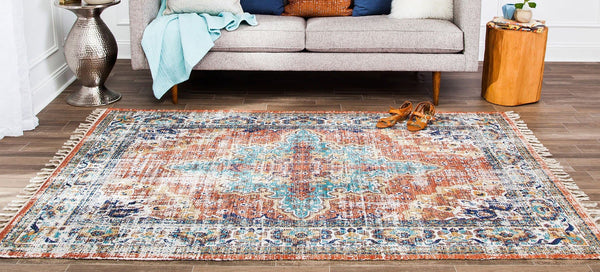 Taftan Distressed Area Rug