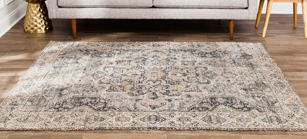 Zagros Distressed Area Rug