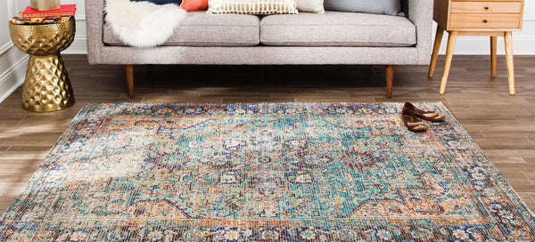 Hazaran Distressed Area Rug