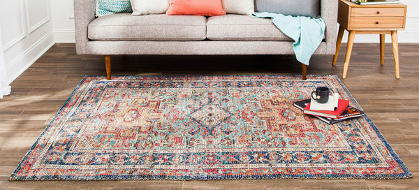 Chaloon Distressed Area Rug