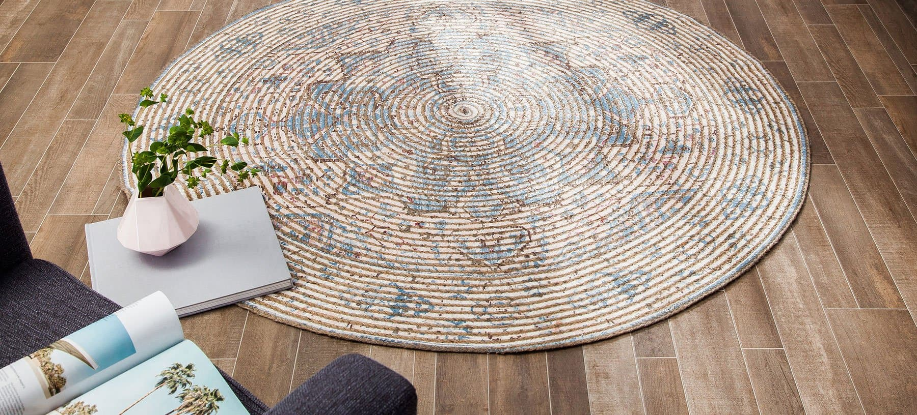 Damavand Distressed Area Rug
