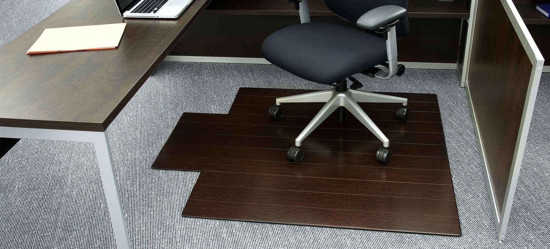 deluxe bamboo chairmat