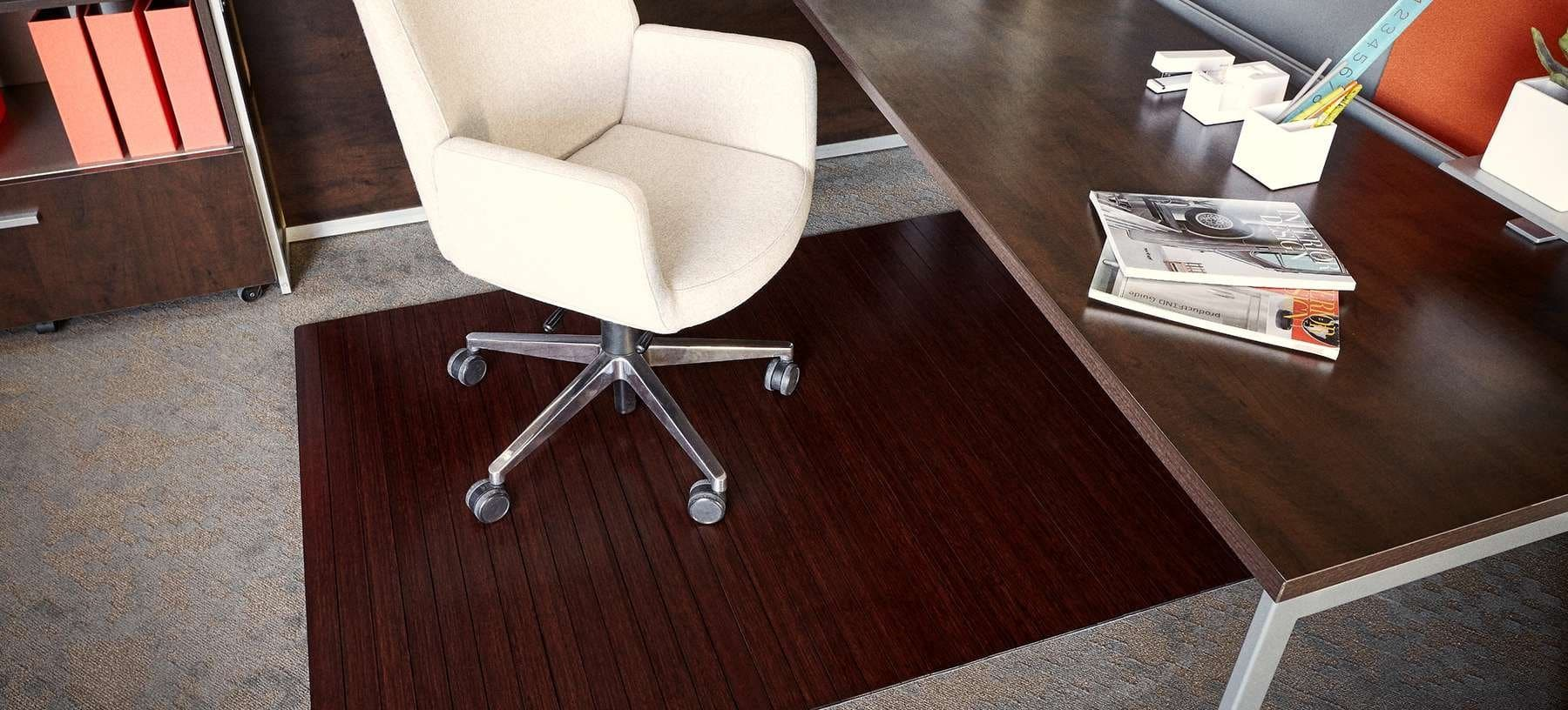 standard bamboo chairmat 5mm - Chair Mat