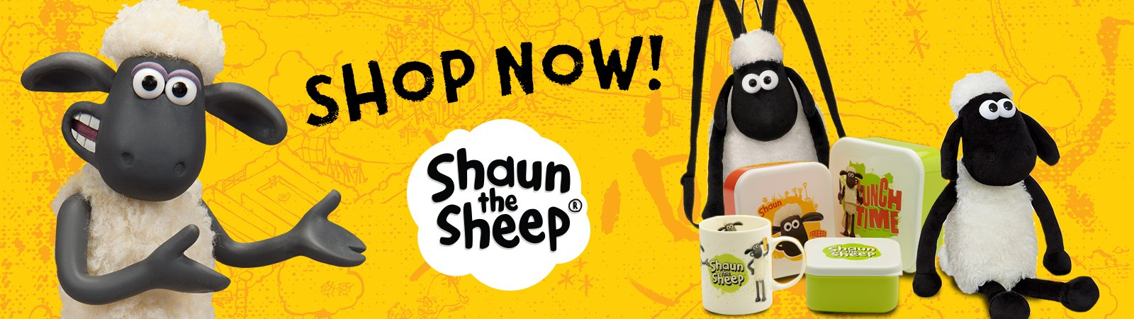 Shaun the Sheep - Stationery