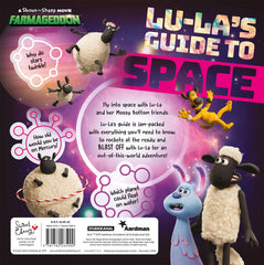Shaun the Sheep Farmageddon 'Lu-la's Guide to Space' Book