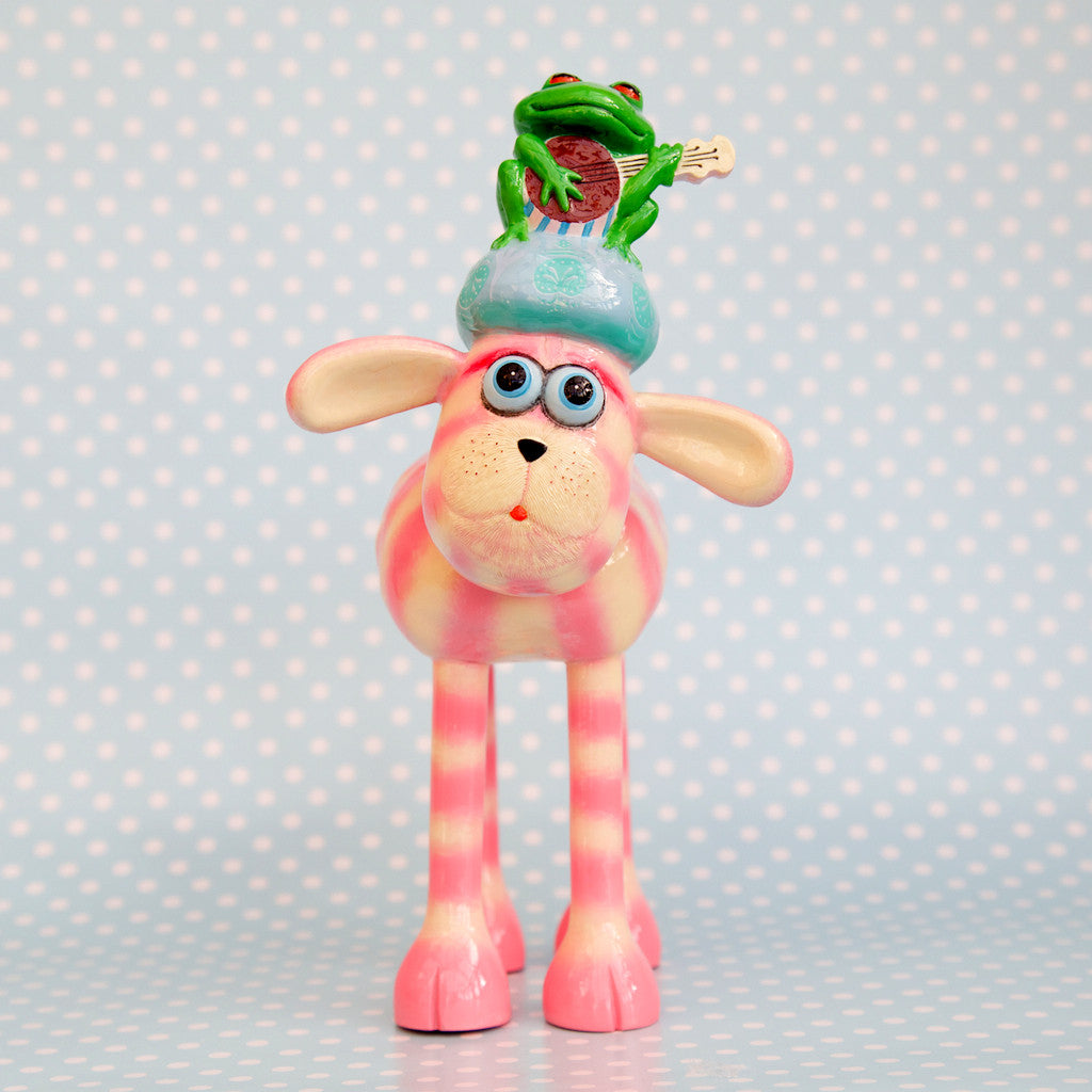 Bagpuss Shaun the Sheep figurine