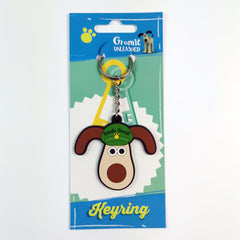 Gromit Unleashed Rubber Keyrings