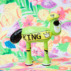 King of the Carnival Shaun the Sheep Figurine