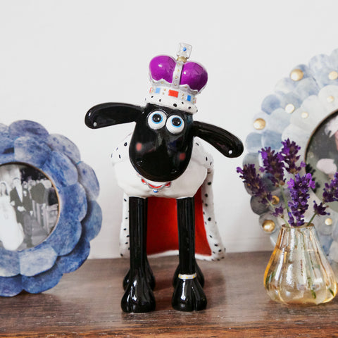 Happy & Glorious Shaun the Sheep Figurine