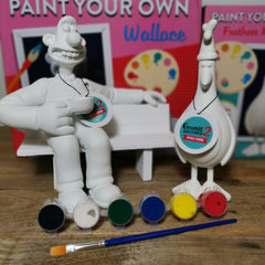 Paint Your Own Feathers Figurine