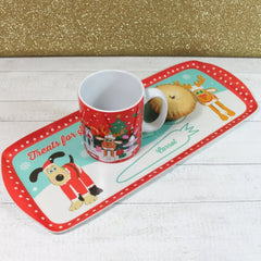 Gromit Unleashed Christmas Eve Santa Treat Tray