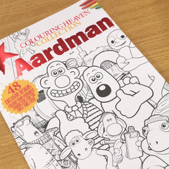 Aardman Collection Colouring Book