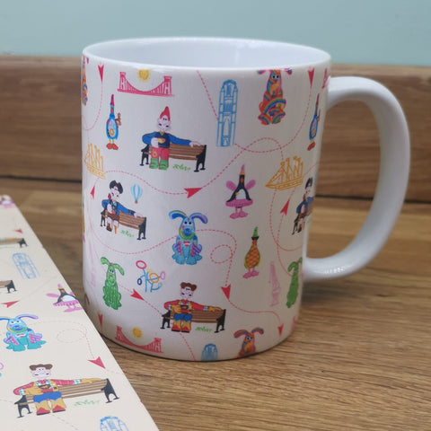 Gromit Unleashed 2 Pattern Mug