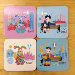 Gromit Unleashed 2 Sculpture Coaster Set